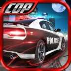 警察巡逻车图标