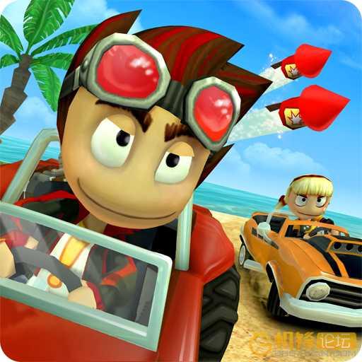 沙滩车竞速图标
