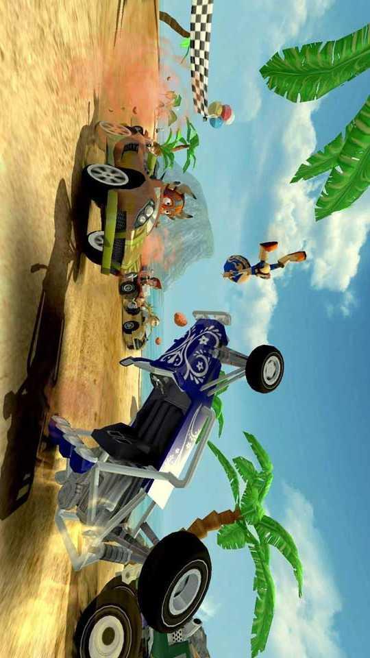 沙滩车竞速宣传图片