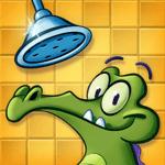 鳄鱼小顽皮爱洗澡图标