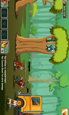 森林防御战:猴子传奇游戏截图