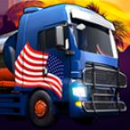 USA驾驶模拟图标