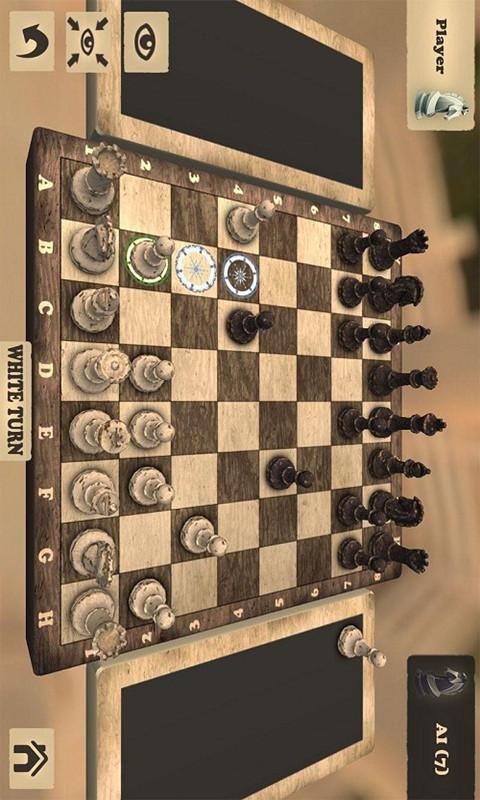 国际象棋游戏截图