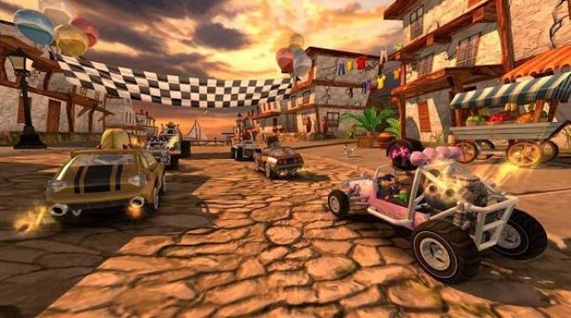 4D极速沙滩赛车游戏截图