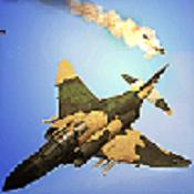 超音速战斗机图标