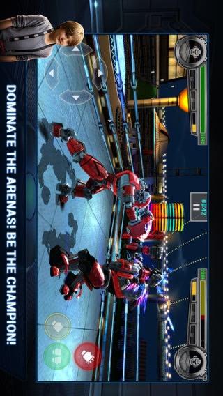 铁甲钢拳宣传图片