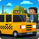 循环出租车图标