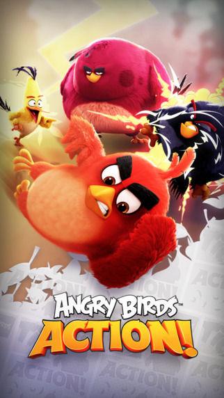 愤怒的小鸟:行动截图1