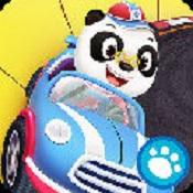 熊猫博士赛车图标