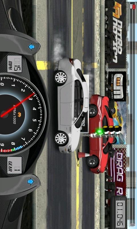 直线加速赛车游戏截图