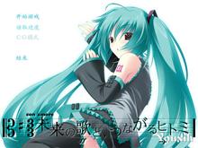 初音同人注视着你瞳里的未来歌谣中文版(PSP)图标