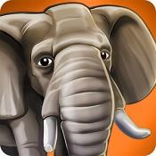 宠物世界:非洲野生动物版图标