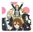 轻音!放学后演唱会中文版(PSP)图标