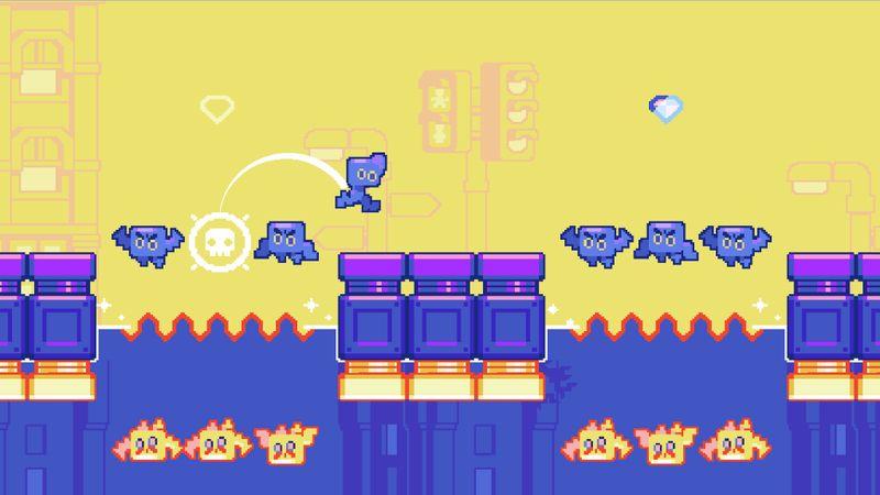 翻转跃进(Hop Swap)无限水晶版游戏截图