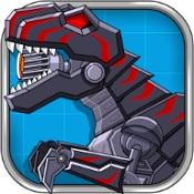 机甲暴龙组装(Robot Dinosaur Black TRex)解锁版