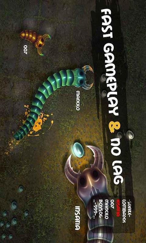 蠕虫大作战游戏截图