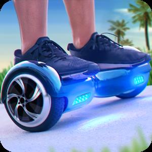平衡车跑酷3D图标
