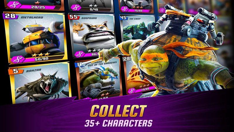 忍者神龜:傳奇(Ninja Turtles Legends)宣傳圖片