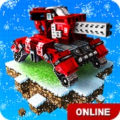 像素战车(Blocky Cars Online)图标