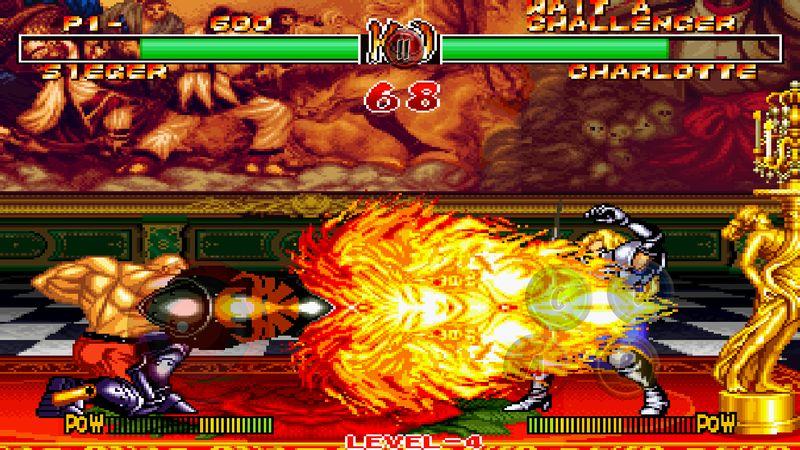 侍魂II(SAMURAI SHODOWN II)游戏截图