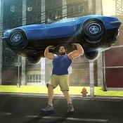 猛男3D格斗(Hunk Big Man 3D Fighting Game)图标