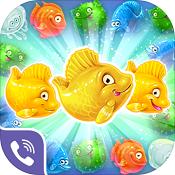 美人鱼拼图3( Viber Mermaid Puzzle Match 3)图标