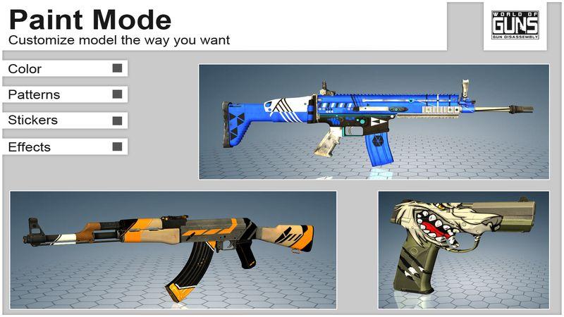枪炮世界(World of Guns: Gun Disassembly)游戏截图