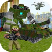 沙盒我的战争(Block Soldier War Games)