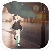 下雨了-唯一最甜美少女雨景跑酷HD图标