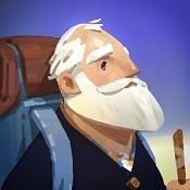 老人之旅图标