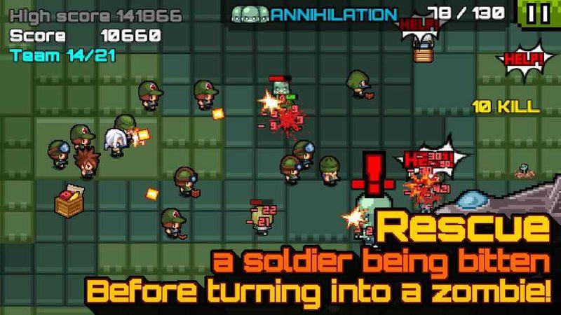 僵尸岛之争游戏截图