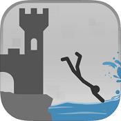 休闲跳水(Stickman flip diving)图标