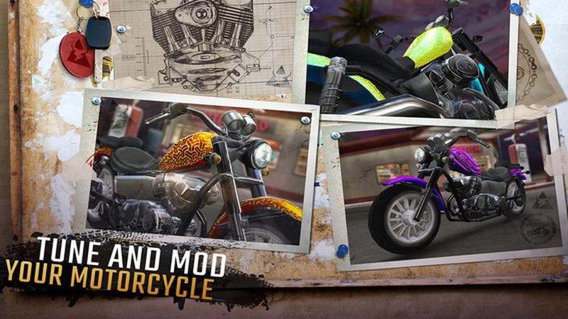 摩托骑士游戏截图