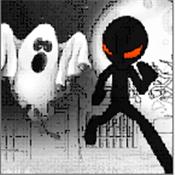 火柴人逃离幽灵城镇图标