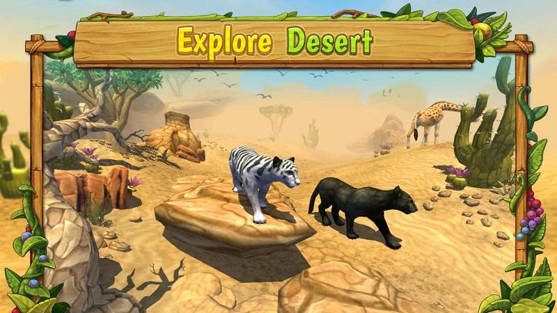 豹子家族(Panther Family Sim)游戏截图