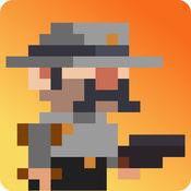 狂野的西部牛仔(Tiny Wild West: Endless 8-bit pixel bullet hell)