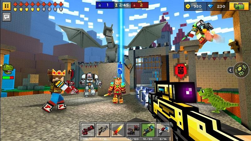 3D像素射击(Pixel Gun 3D)免验证版游戏截图