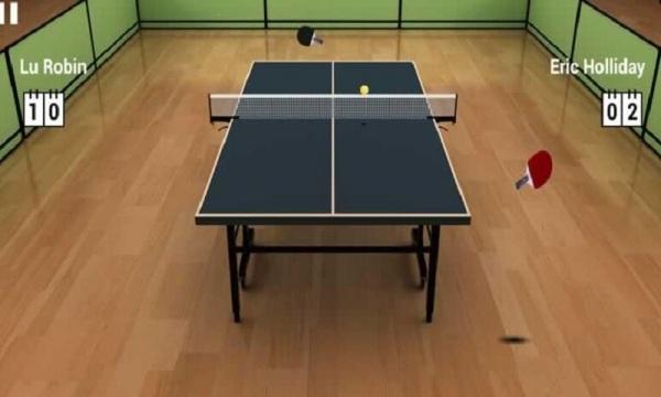 虚拟乒乓球游戏截图