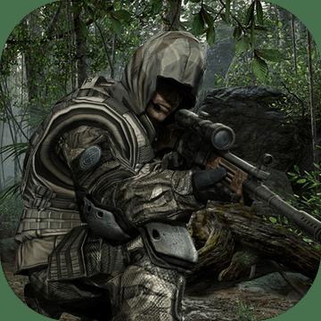 丛林狙击手秘密任务:射击游戏图标