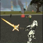 飞行机器人战争