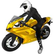 极限摩托驾驶3D图标
