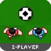 两人足球图标