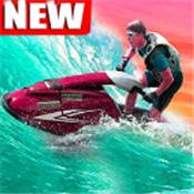 赛艇比赛3D图标