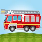小小消防车图标