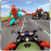 蜘蛛英雄骑手-公路公路赛车手图标