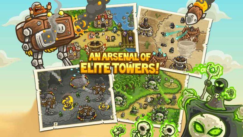 王国之战:前沿Kingdom Rush Frontiers游戏截图