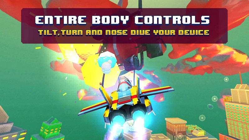 像素复古飞行器(PixWing - Flying Retro Pixel Arcade)截图1