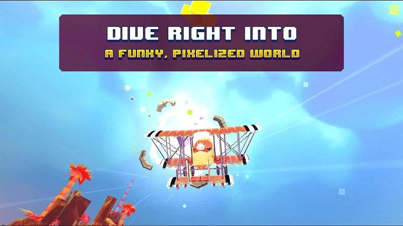 像素复古飞行器(PixWing - Flying Retro Pixel Arcade)截图4