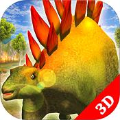 恐龙生存战争3D图标