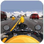 真实公路摩托车赛图标